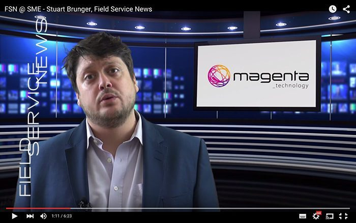 Field Service News @ Service Management Expo - Stuart Brunger, Magenta