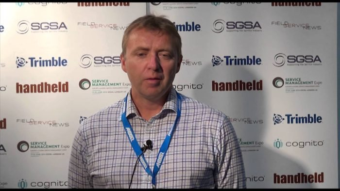 Field Service News live at Service Management Expo 2014 - Gerard O'Keeffe, GeoPal