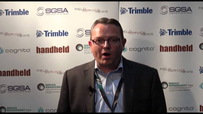 Field Service News live at Service Management Expo 2014 – Giles Margerison, TomTom Telematics