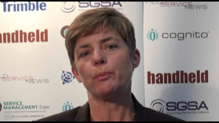 Field Service News live at Service Management Expo 2014 – Isobel van der Vegt, SGSA