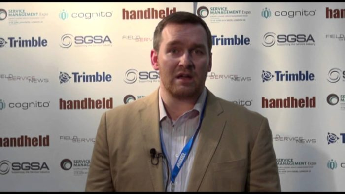 Field Service News live at Service Management Expo 2014 – Richard Smith, SOTI