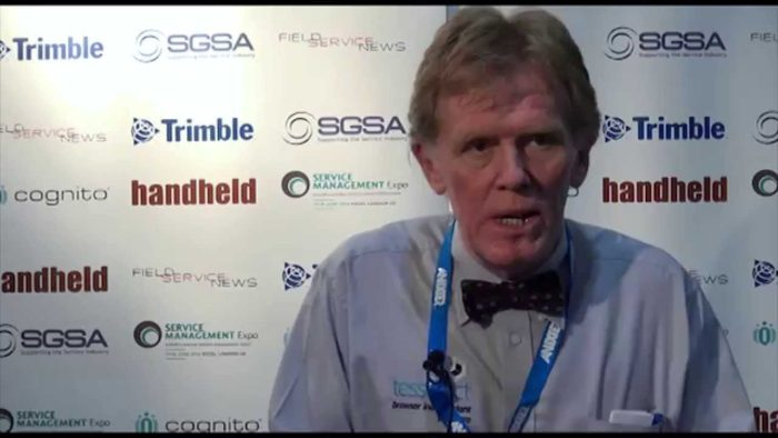 Field Service News live at Service Management Expo 2014 – Colin Brown, Tesseract