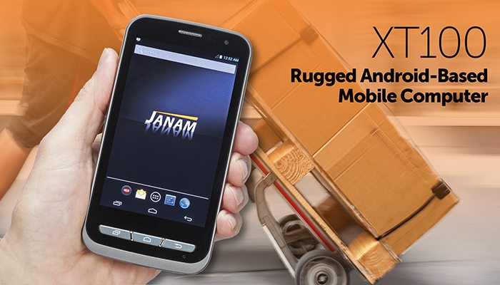 Janam announce the launch of the XT100