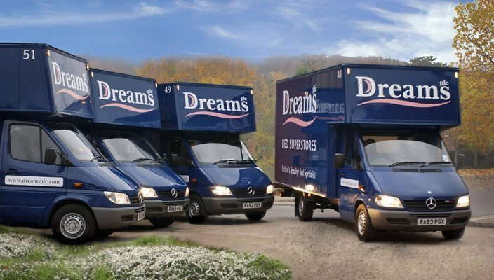 Fleet management technology helping to deliver sweet Dreams