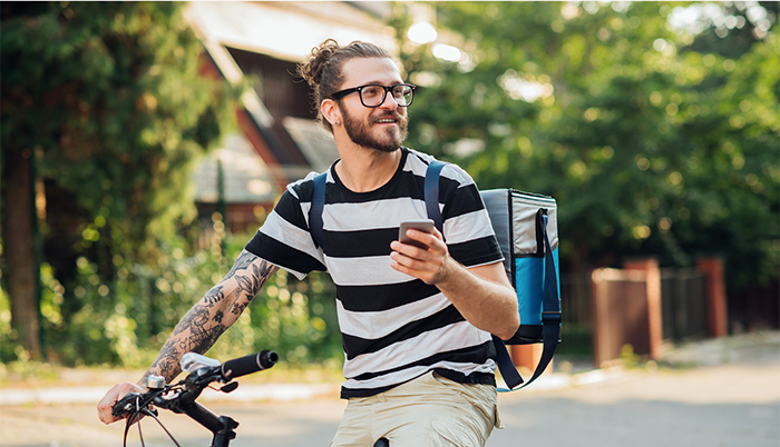 Could the gig economy give rise to a new generation of 'tech-couriers'?
