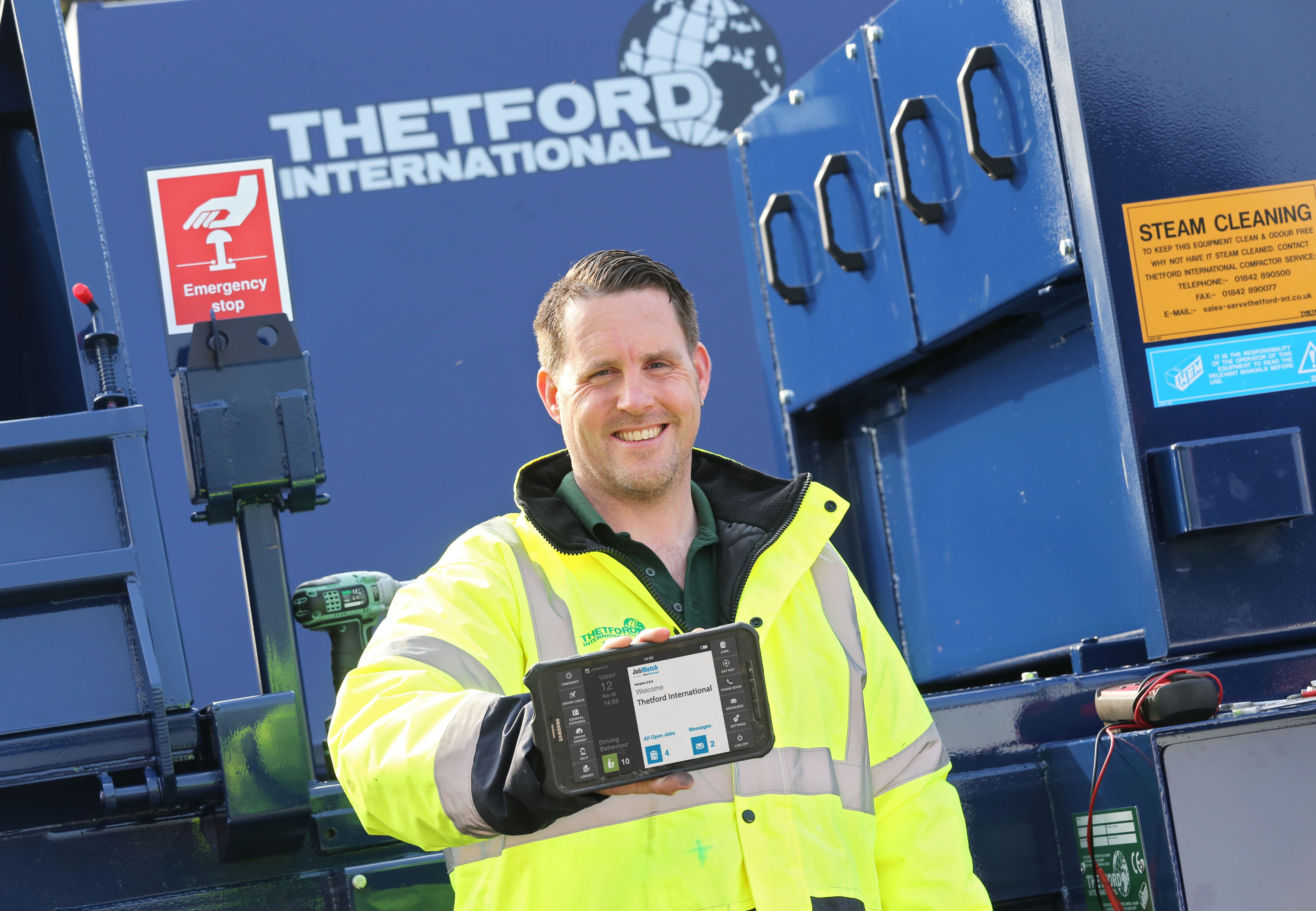 Thetford International Deploy BigChange