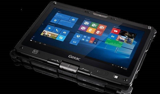 Enhanced security for Getac F110 and V110 computers