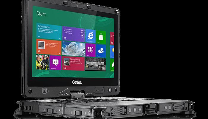 Hands On: GETAC V110 rugged convertible laptop