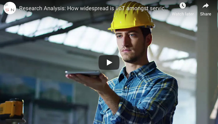 Research Analysis: How widespread is IIoT amongst service-centric manufacturers?
