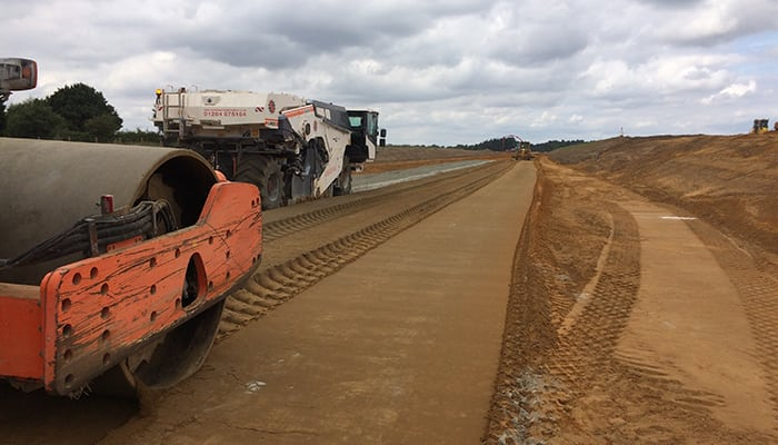 Topcon Improves Accuracy of Earthworks Process on UK Carriageway Project