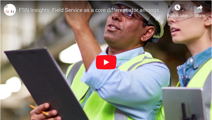 Field Service as a core differentiator amongst competing organisations...
