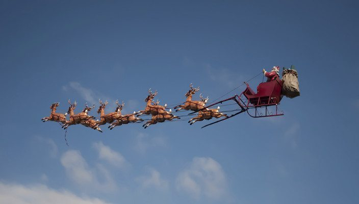 A HELPING HAND FOR SANTA TO DELIVER 120M PRESENTS