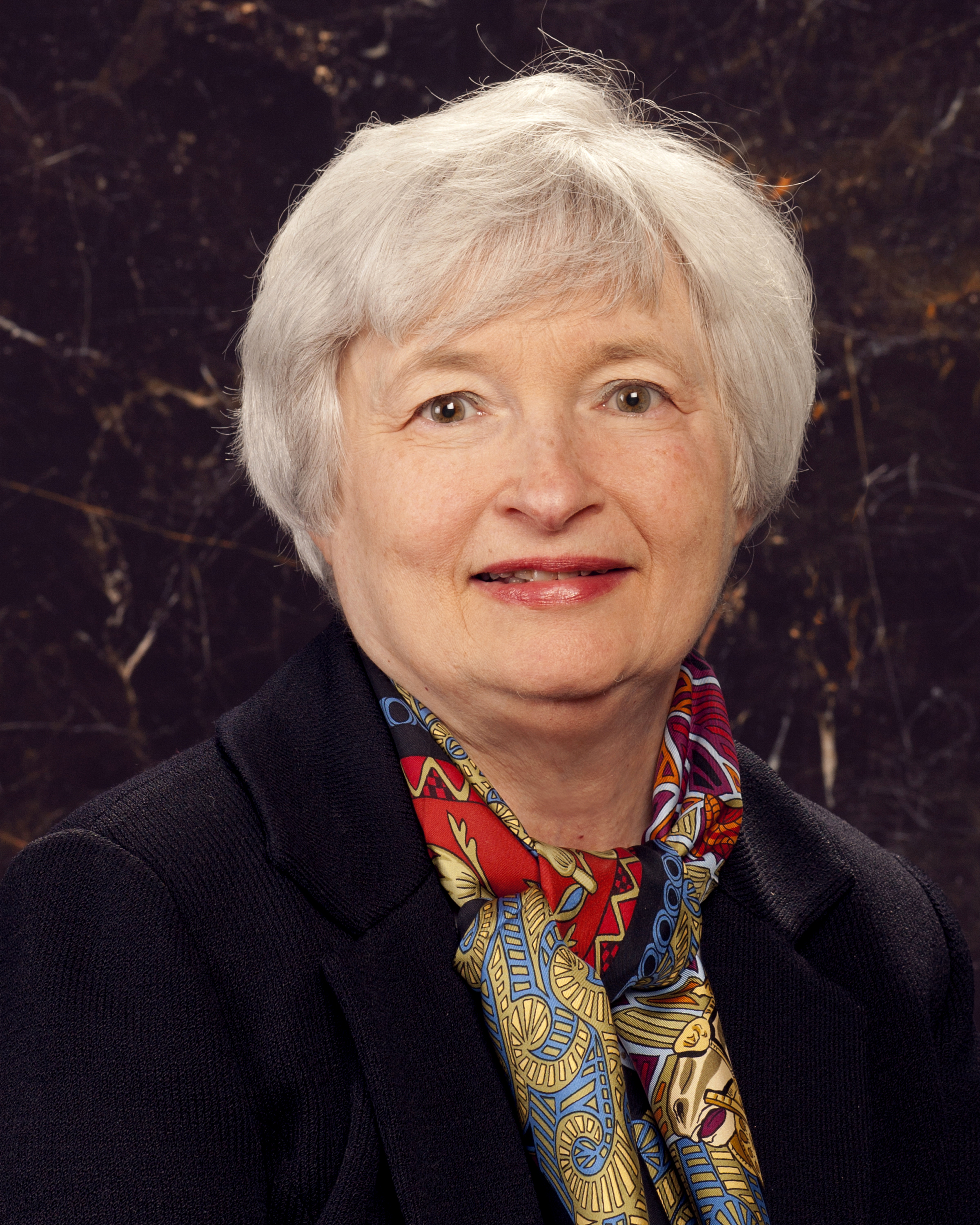 Janet Yellen official portrait