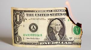 dollar_on_fire