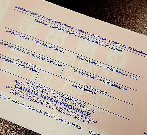 Car Insurance Valid In Canada