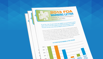 2013 Top FDA Warning Letter Findings