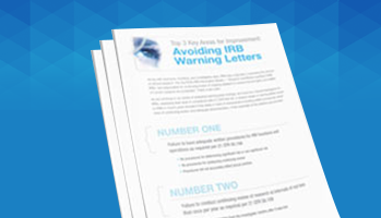 Avoiding IRB Warning Letters
