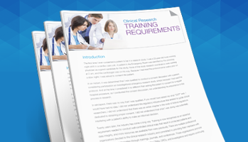 Clinical Research Training Requirements