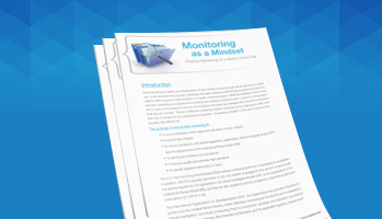 Monitoring as a Mindset