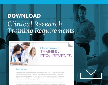 In-Person Clinical Research Training