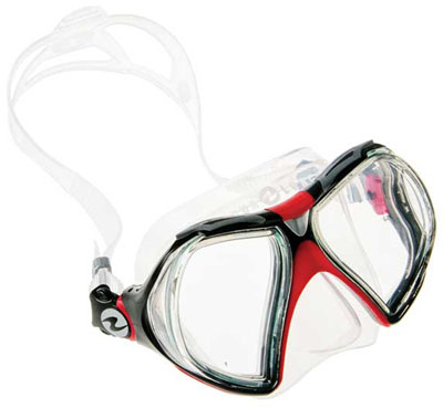Aqua Lung Infinity mask at Turtle Bay Dive Resort