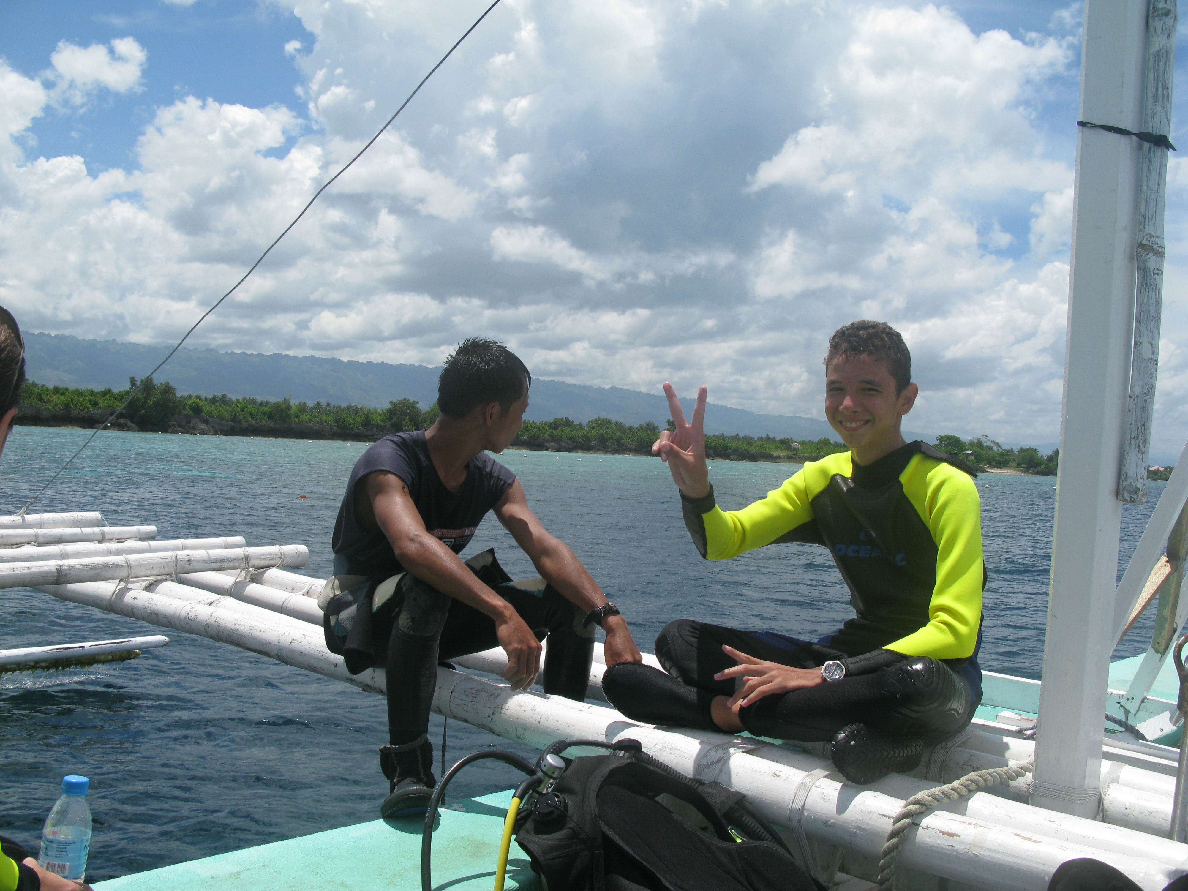 Divers with Turtle Bay Dive Resort