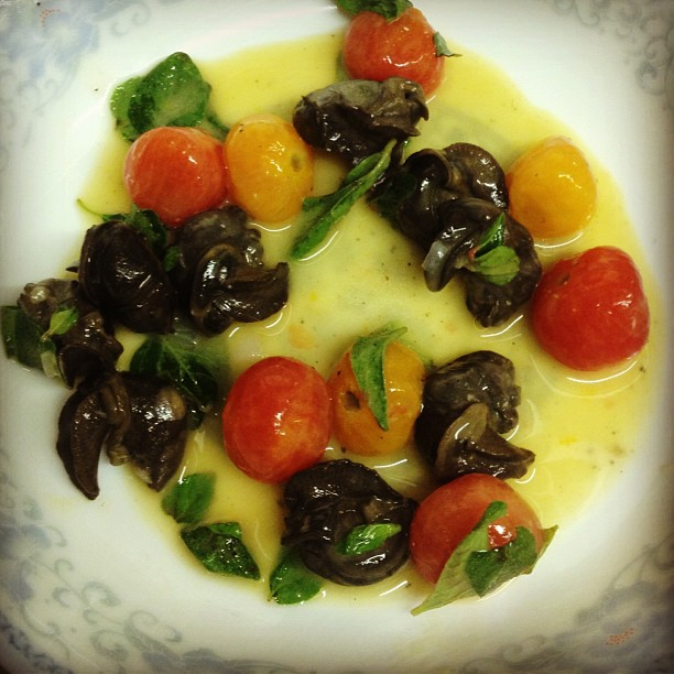 how to cook garlic butter snails
