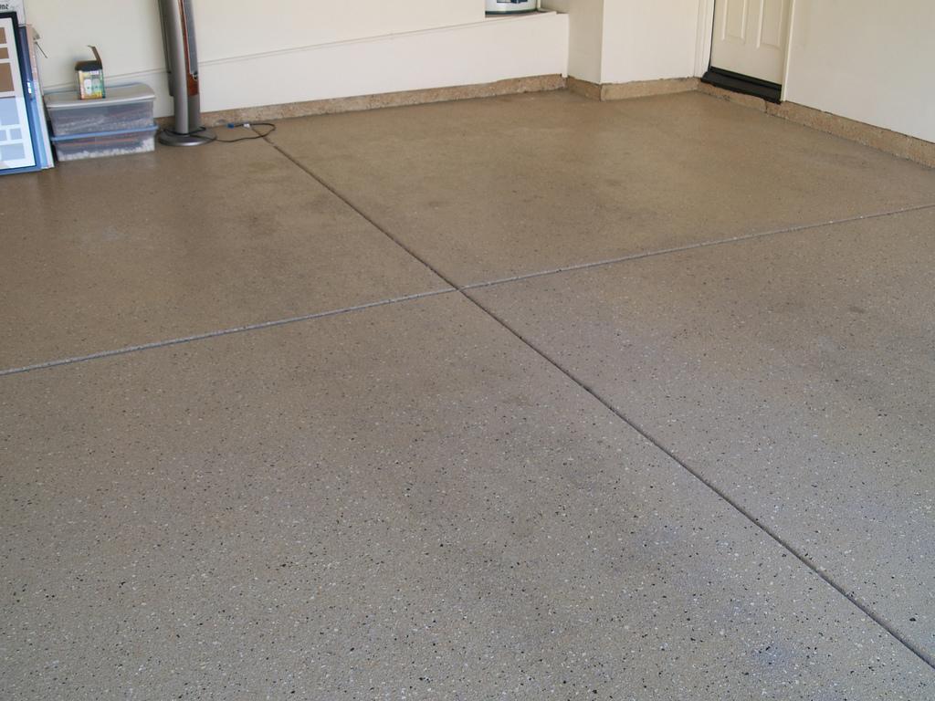 Garage floor garage floor with garage floor the benefits for Great garage floors