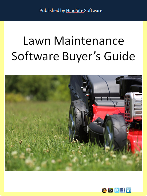 Lawn Maintenance Software Buyer's Guide