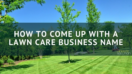 7 ways to create an original username wikihow for Landscaping company names