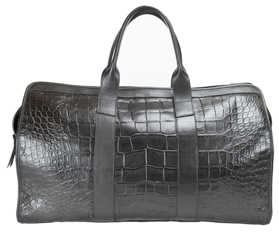Exotic Leather Becomes Everyday Item