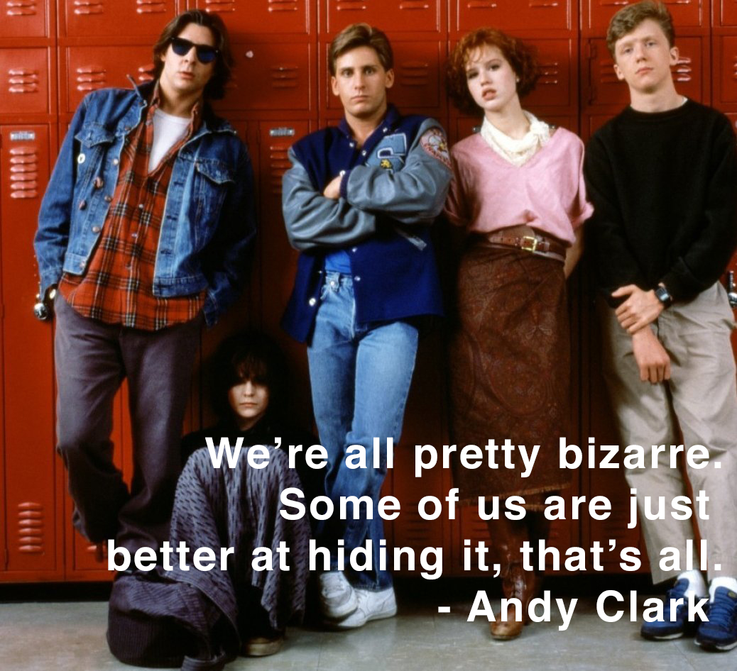 breakfast club essay movie Free essay: she breaks through her stigma that popular girls don't talk to the unpopular kids as she creates a relationship with bender bender, a boy from.