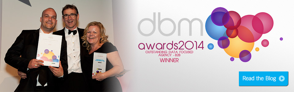 Outstanding Data Focused Agency at Database Marketing Awards 2014
