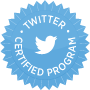Twitter Certified Program Badge