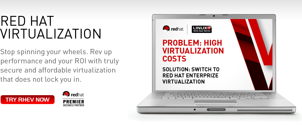 Red Hat Virtualization - Stop spinning your wheels. Rev up performance and your ROI with truly secure and affordable virtualisation that does not lock you in. Try RHEV now.