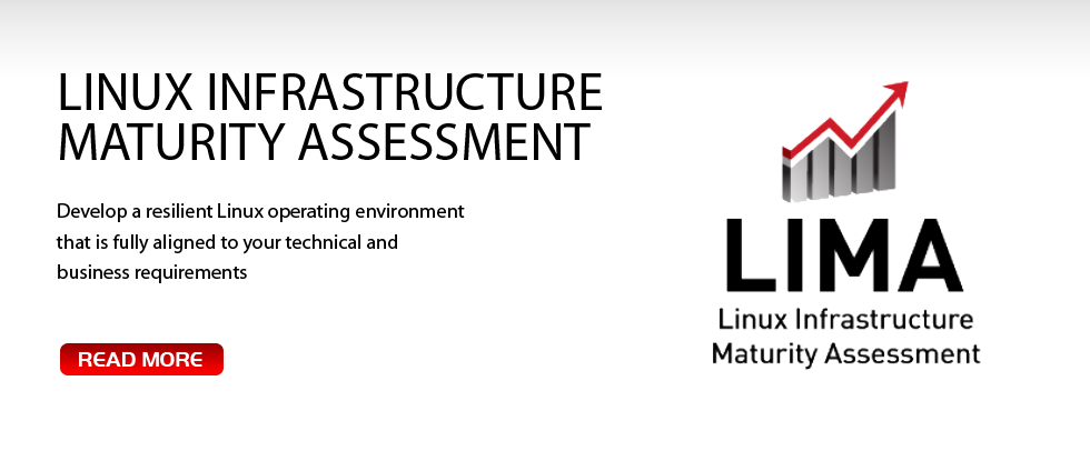 Linux Infrastructure Maturity Assessment. Develop a resilient Linux operating environment that is fully aligned to your technical and business requirements.