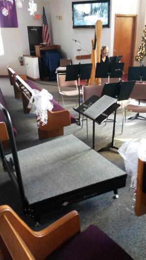 Conductor's Podium from Audience View