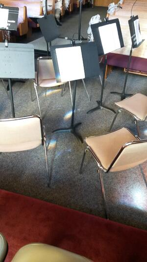Conductor's Podium from Orchestra View
