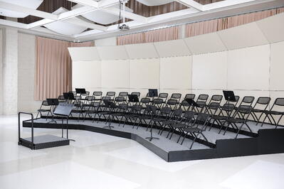 Seated Risers and Band Shells