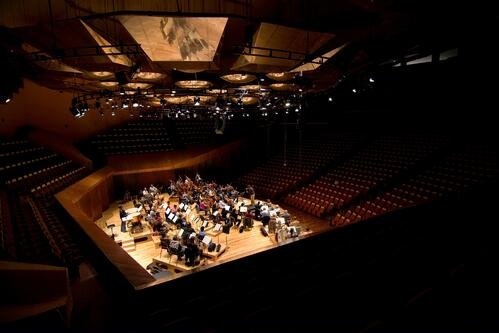 Orchestra Stage and Seating in the Round