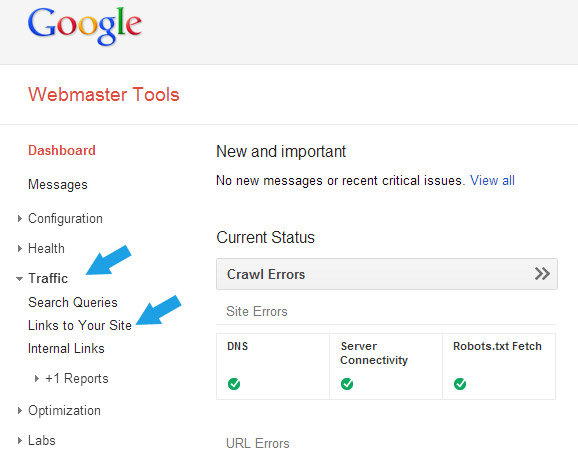 google-webmaster-links-to-site