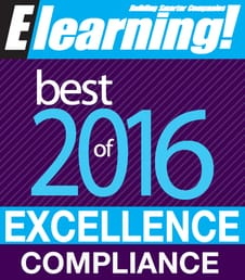 2016 Best of Elearning! Excellence in Compliance Training