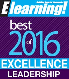 2016 Best of Elearning! Excellence in Leadership Training