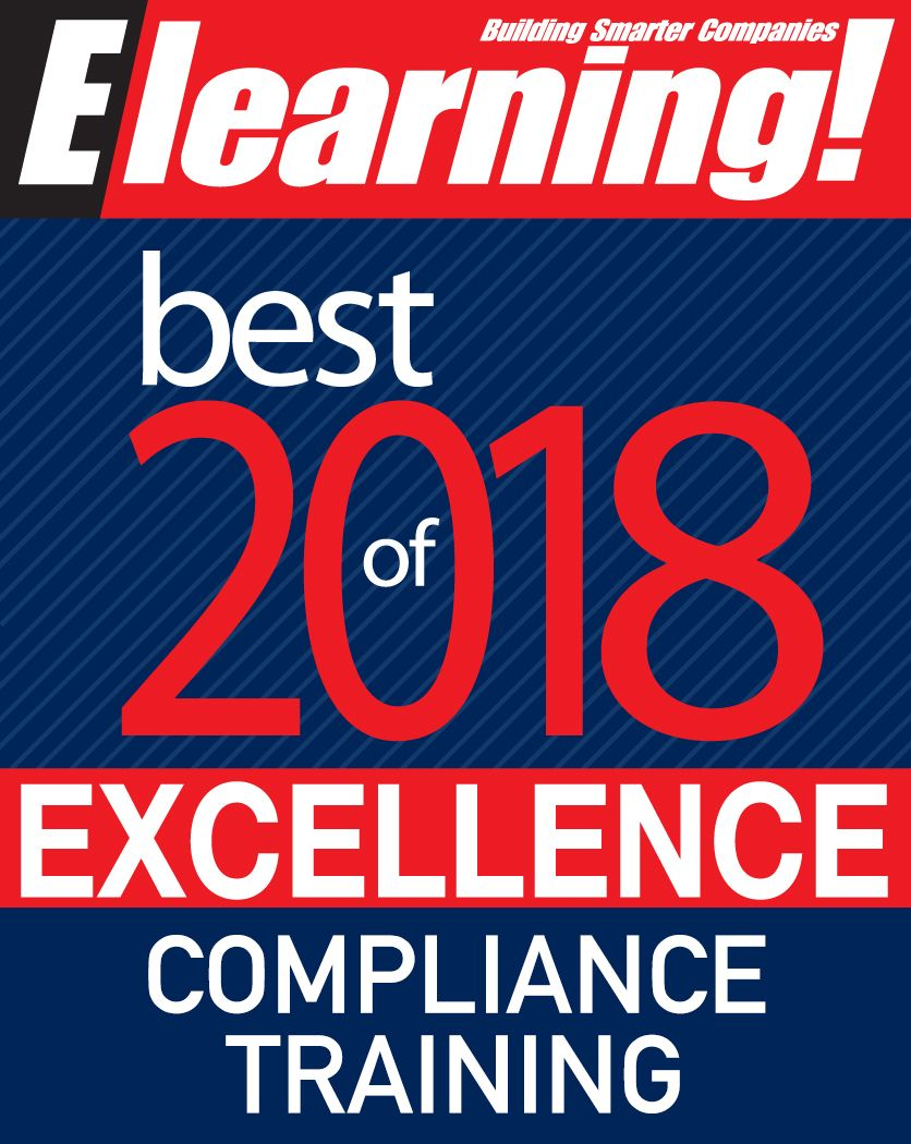 2018 Best of Elearning! Excellence in Compliance Training