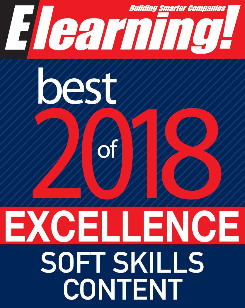 2018 Best of Elearning! Excellence in Soft Skills