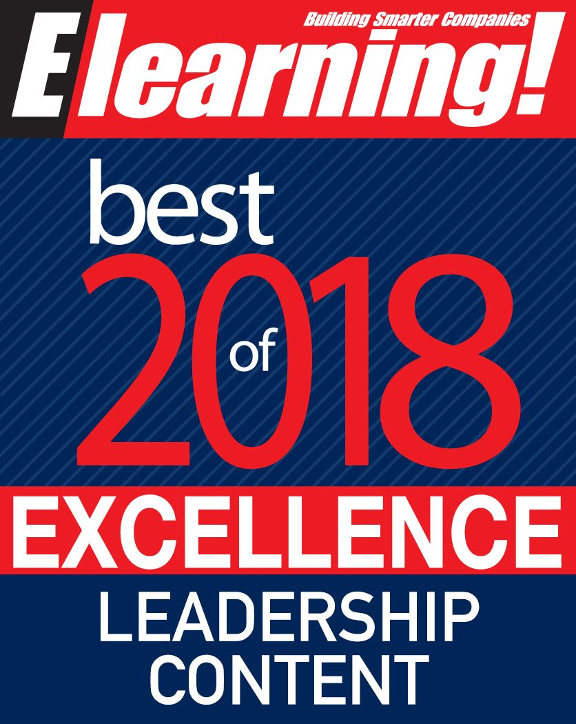 2018 Best of Elearning! Excellence in Leadership Content