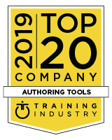2019 ej4 Training Industry Top 20 Authoring Tools