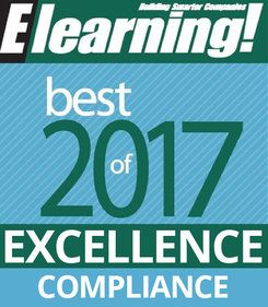 2017 Best of Elearning! Excellence in Compliance Training