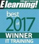 Best of Elearning 2017 - IT Training Award Winner
