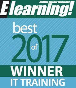 2017 Best of Elearning! IT Training Winner